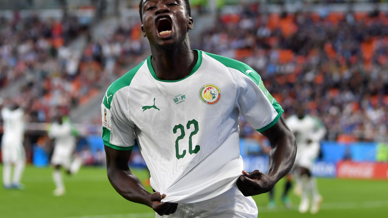 Photos : Premier but de Moussa Wagué au Mondial 2018