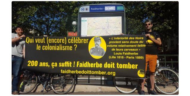 Même en France, on ne veut plus des symboles en l'honneur de Faidherbe