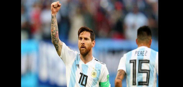 Argentine-Nigéria : La réaction de Lionel Messi après leur qualification