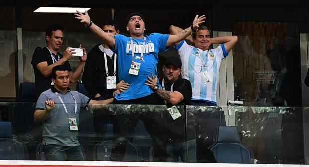 Mondial 2018 : Diego Maradona hospitalisé après la victoire de l'Argentine (vidéo)