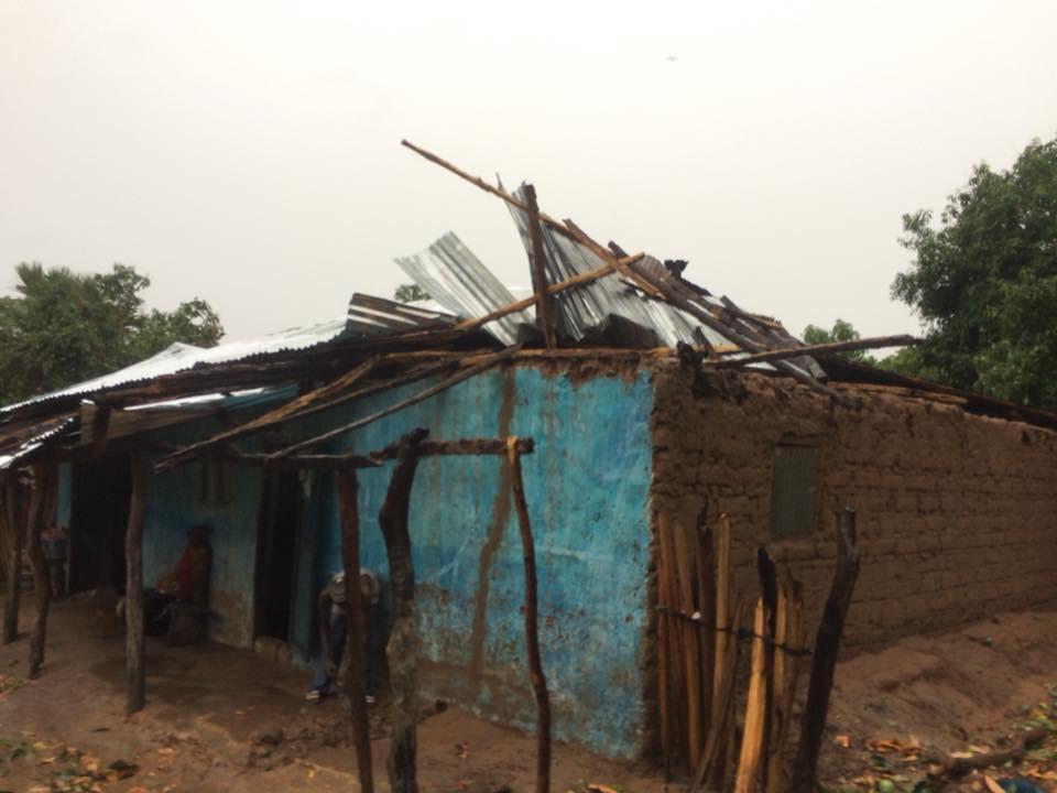 Après le passage du vent et de la pluie : Plusieurs villages de la Casamance sinistrés