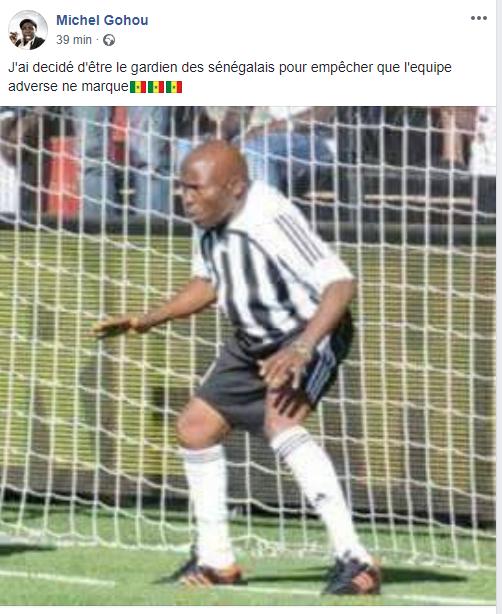 Khadim Ndiaye raillé par le comédien ivoirien, Michel Gohou