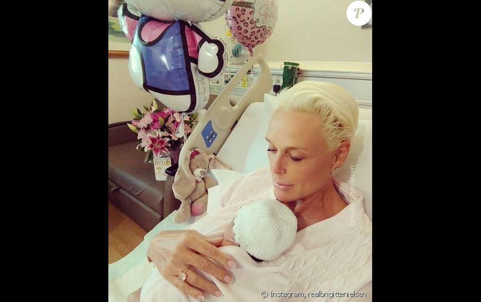 Brigitte Nielsen, l'ex de Sylvester Stallone Rambo, maman à 54 ans