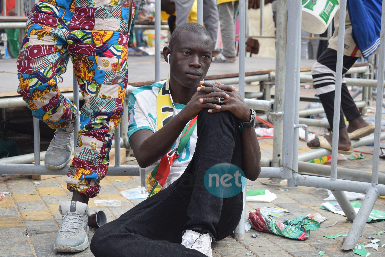 53 photos : Les supporters sénégalais KO après l'élimination des Lions