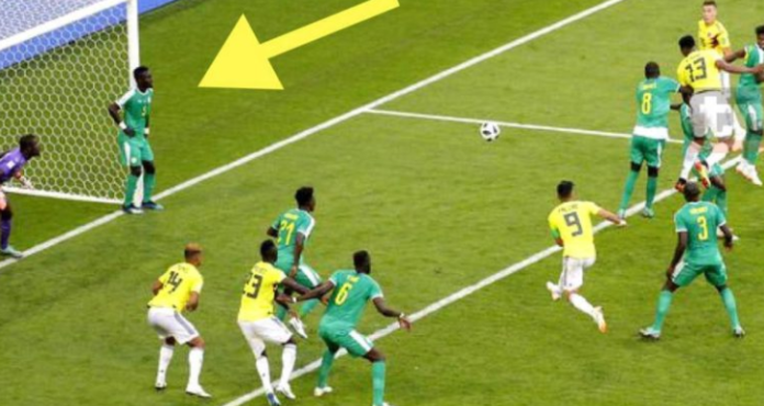 L'attitude de Idrissa Gana Guèye sur le but colombien fait le buzz sur le net