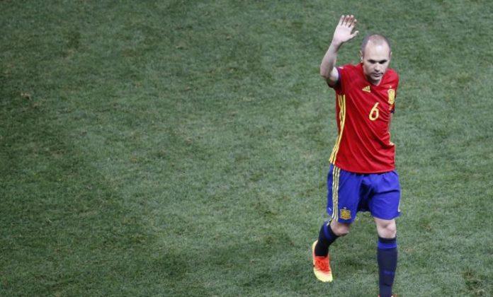 Iniesta annonce sa retraite internationale