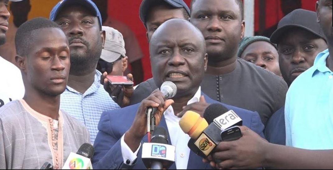 """Arrêt de la CEDEAO:  Idrissa Seck demande à Macky Sall de """"libérer immédiatement"""" Khalifa Sall"""