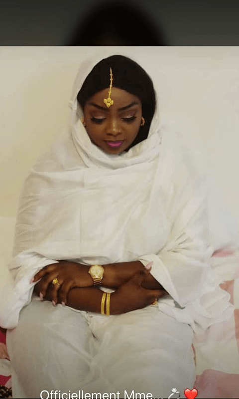 Carnet blanc : Nicky, Amina Ndiaye, de la série « Idoles » s'est mariée