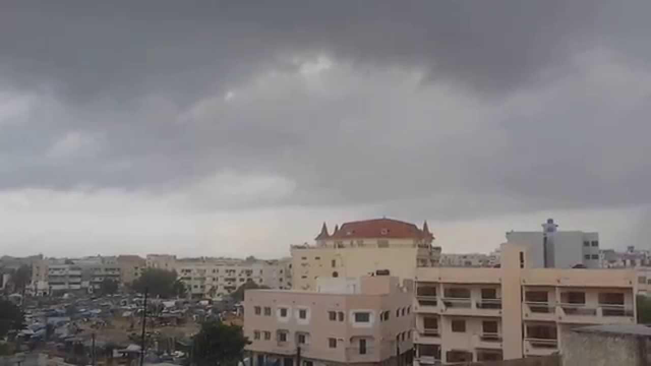 Des activités pluvio-orageuses prévues sur quasi-totalité du territoire, jusqu'à mercredi ( Anacim)