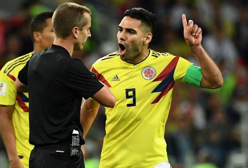 """Colombie-Angleterre: Falcao dézingue l'arbitre, qu'il qualifie de """"honte"""""""