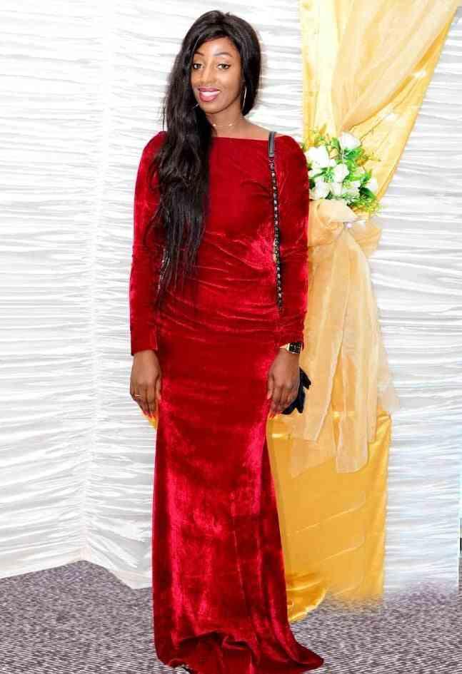 Photos: Naya, la femme chérie de Diop Fall en red carpet
