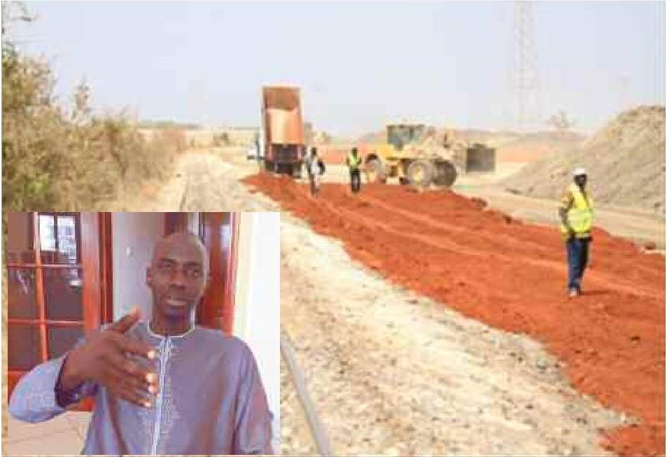 Omar FAYE de LERAL ASKAN-WI alerte sur les travaux du Ter à Rufisque et accuse Eiffage