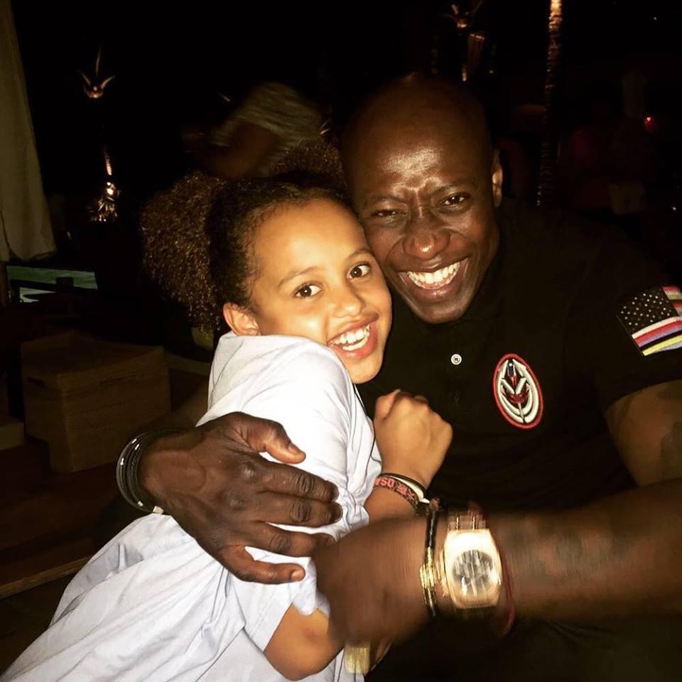 Photos : Fadiga et sa fille Naoel