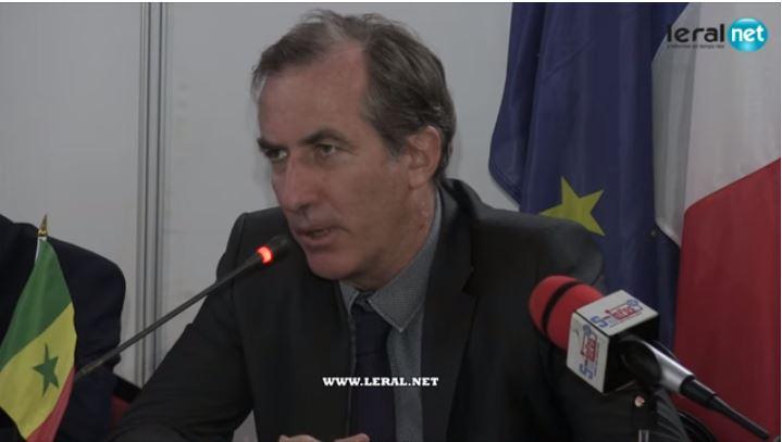 L'ambassadeur de France, Christophe Bigot défend Auchan