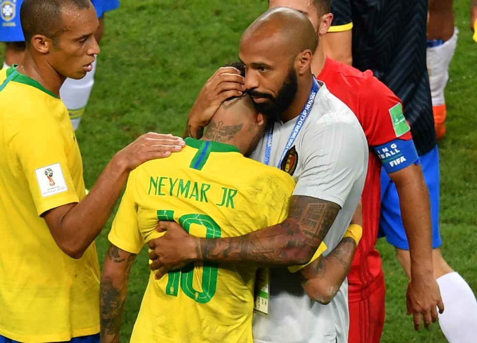 Thierry Henry a consolé Neymar