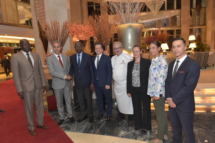 Le Premier ministre du Sénégal Mahammed Boun Abdallah Dionne est arrivé à Ankara