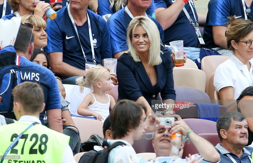 Photos : Erika Choperena la belle femme d'Antoine Griezmann