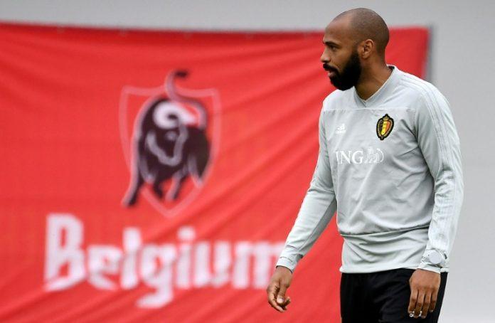 """Thierry Henry, légende bleue au service des """"Diables"""""""