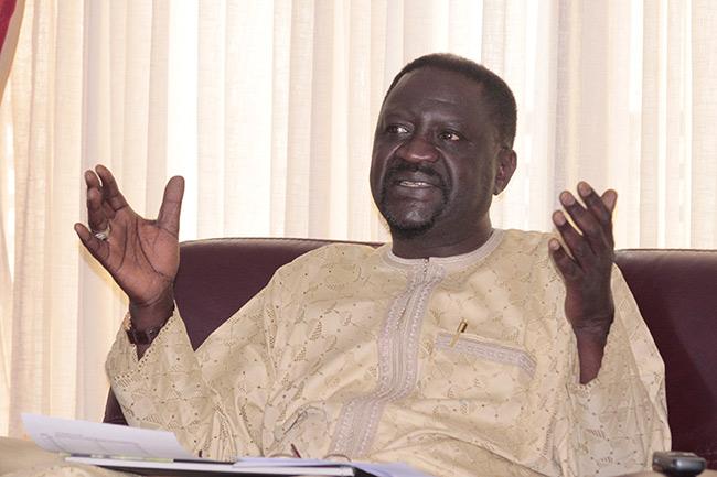 """""""Le monde agricole imaginaire de Monsieur Abdoul  Mbaye""""  (Papa Abdoulaye Seck, ministre de l'Agriculture)"""