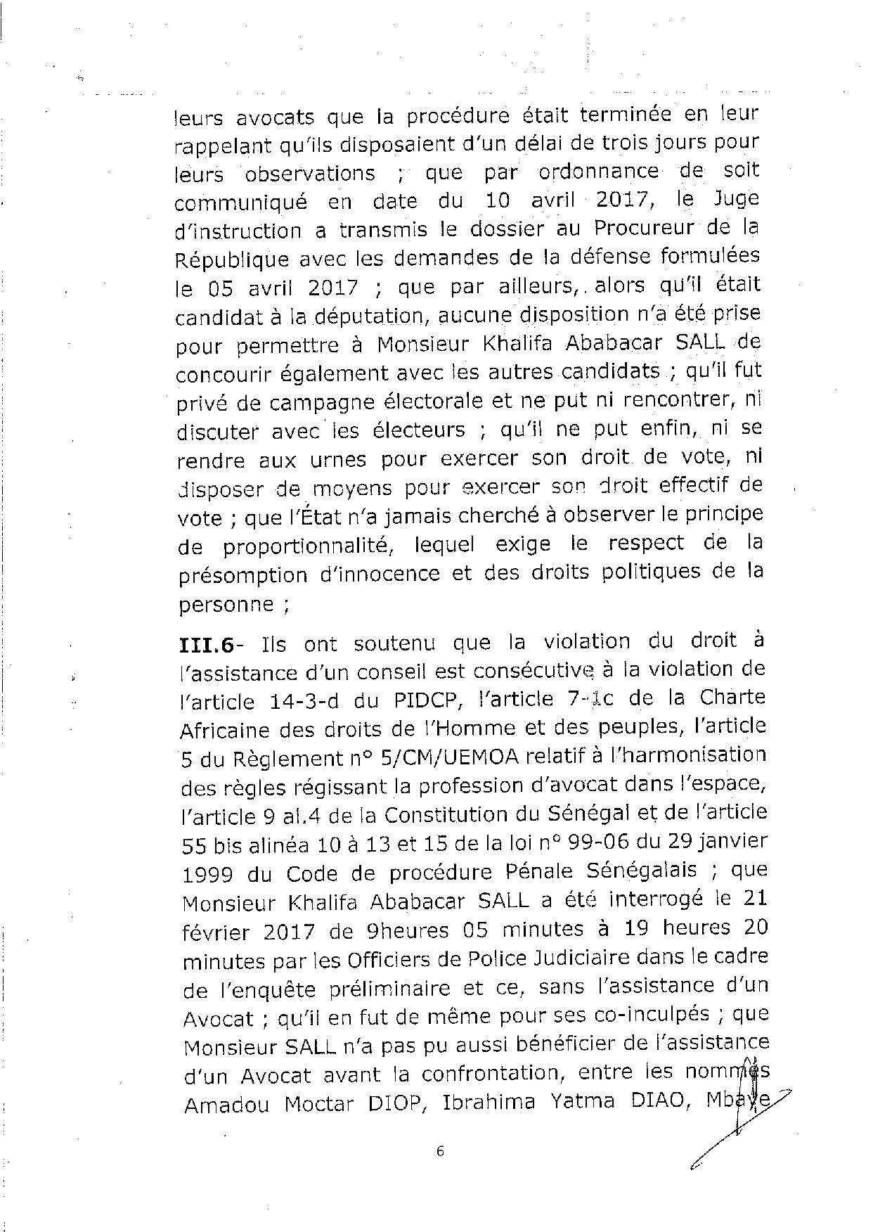L'arrêt de la Cour de justice de la Cedeao sur l'affaire Khalifa Sall (PART 1)