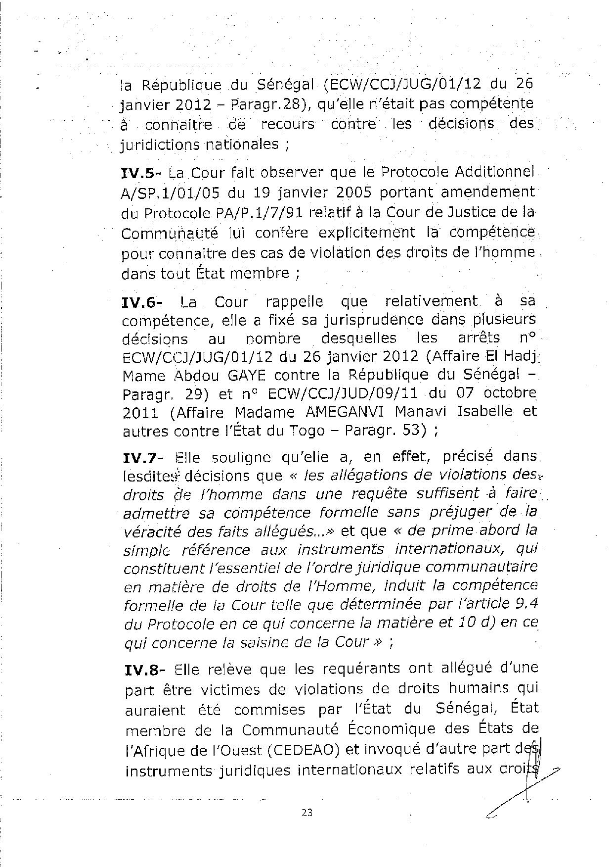 L'arrêt de la Cour de justice de la Cedeao sur l'affaire Khalifa Sall (PART 3)