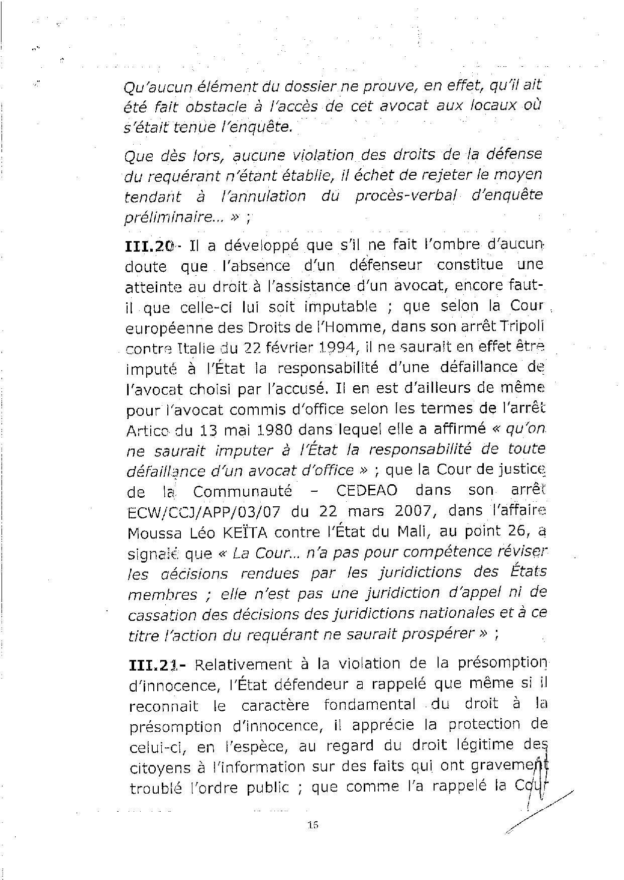 L'arrêt de la Cour de justice de la Cedeao sur l'affaire Khalifa Sall (PART 2)