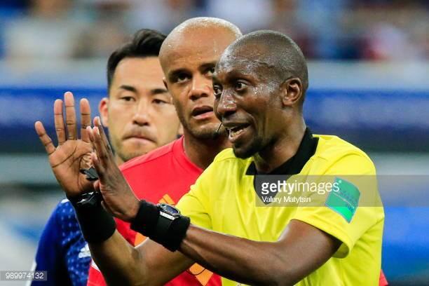 Match pour la 3e place: Belgique/Angleterre – Malang Diedhiou désigné comme 4e arbitre