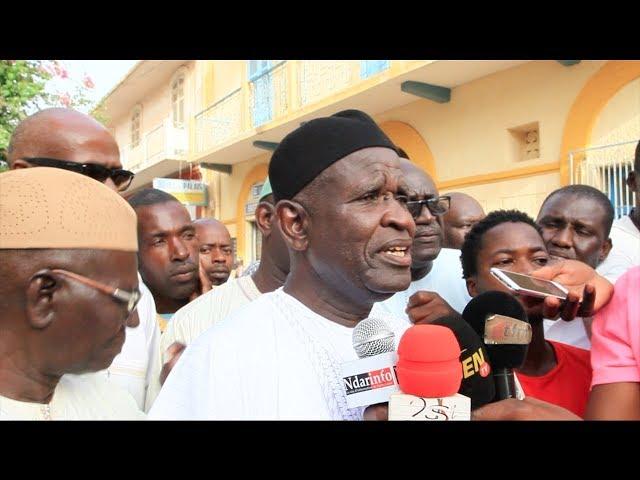 """Abdoul Mbaye, le père d'Abba : """" mes fils ne sont pas des bandits ... """""""