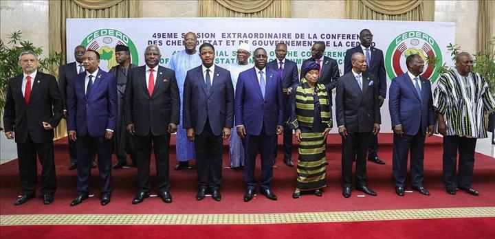 Les 15 chefs d'Etat ont reçu l'arrêt de la CEDEAO
