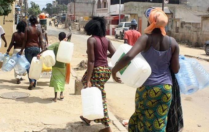 Pénurie d'eau à Dakar: En attendant le 20 juillet, la souffrance s'accentue dans les ménages