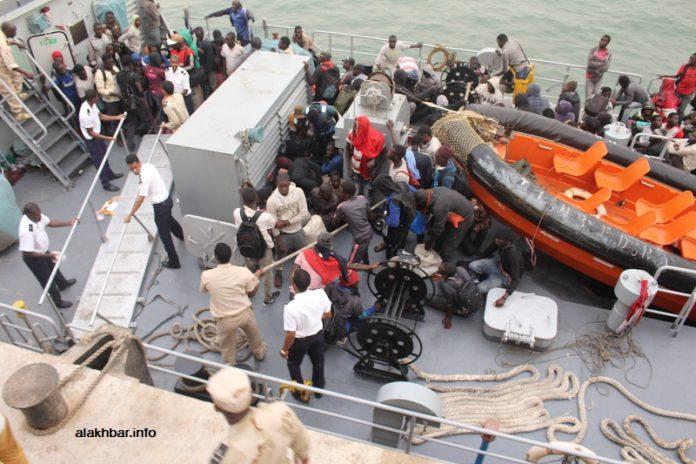 La police mauritanienne aux trousses de 27 migrants sénégalais