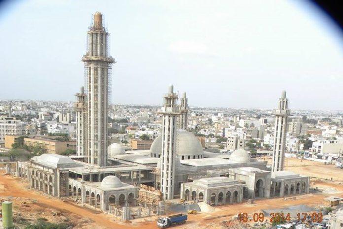L'inauguration de la Grande Mosquée Massalikoul Jinane de Dakar reportée à une date ultérieure