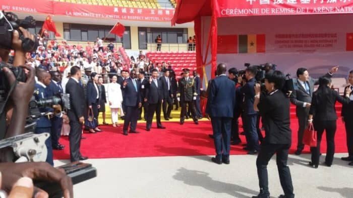 """Arène Nationale : Matar Bâ salue le """"savoir-faire"""" de la Chine"""