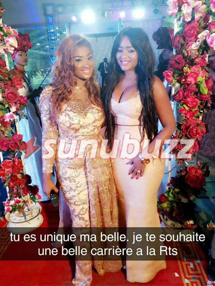 Photos : Fama Thioune et Adja Astou, deux belles nymphes tout en fleurs