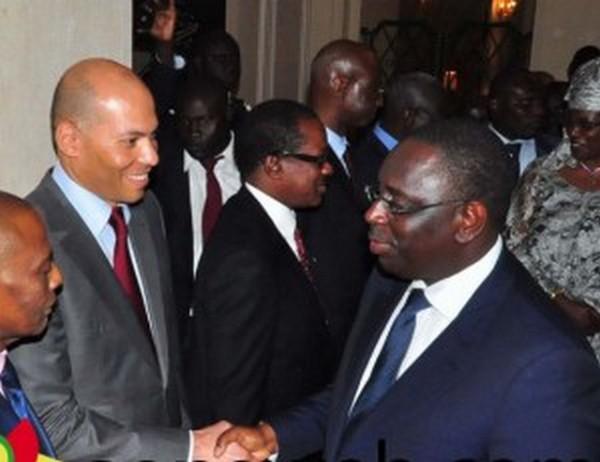 Macky Sall, Serigne Sidy Mbacké et Karim Wade