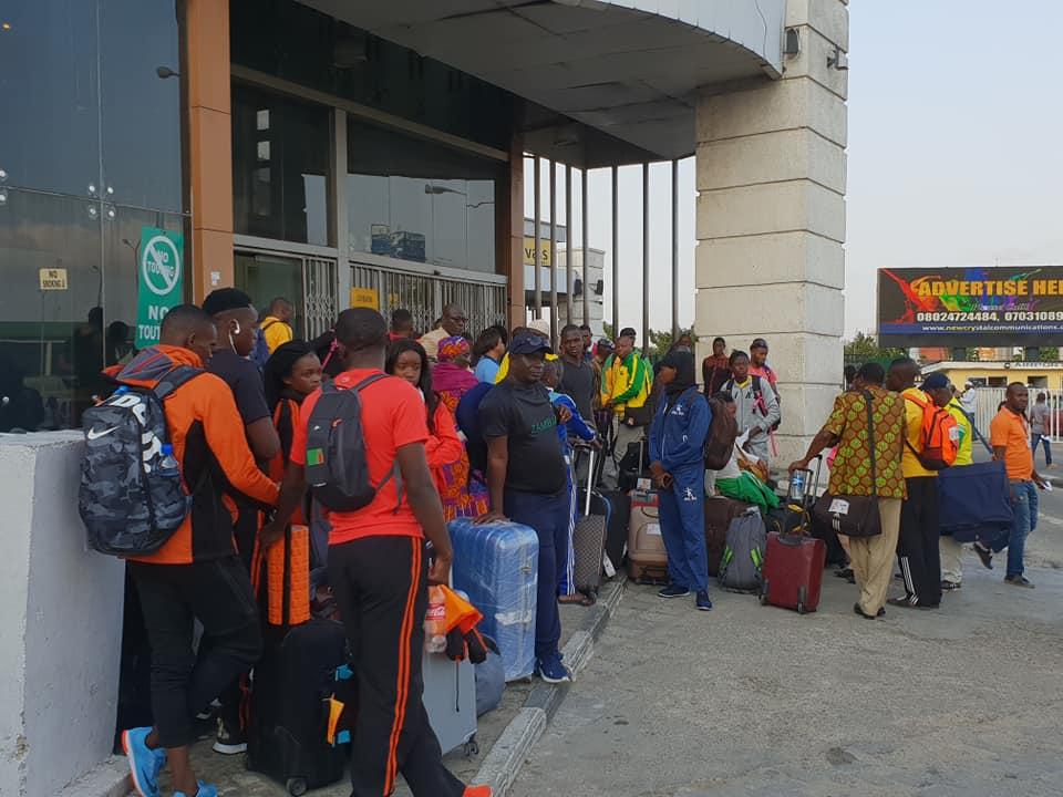 URGENT : Des athlètes sénégalais, maliens marocains, zambiens togolais, parqués comme des animaux à Lagos