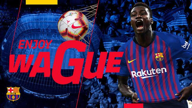 Officiel : Moussa Wagué rejoint le FC Barcelone