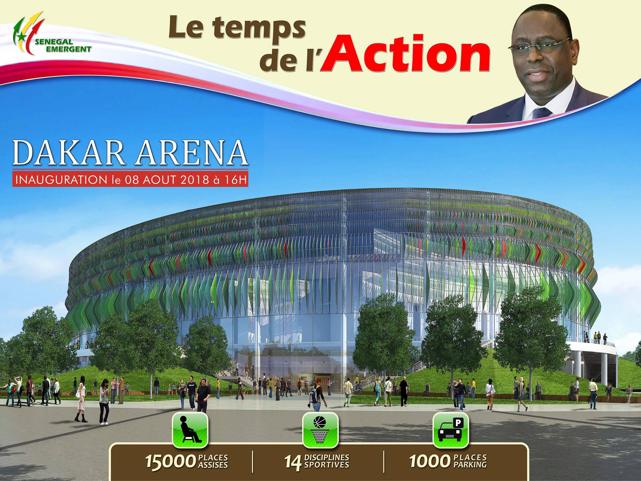 Le stadium Marius Ndiaye a un « petit frère », Dakar Arèna, après 55 ans d'existence.