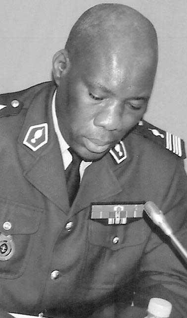 Lutte anti-terroriste: Le nouveau Général Wagane Faye à la tête de la Cico
