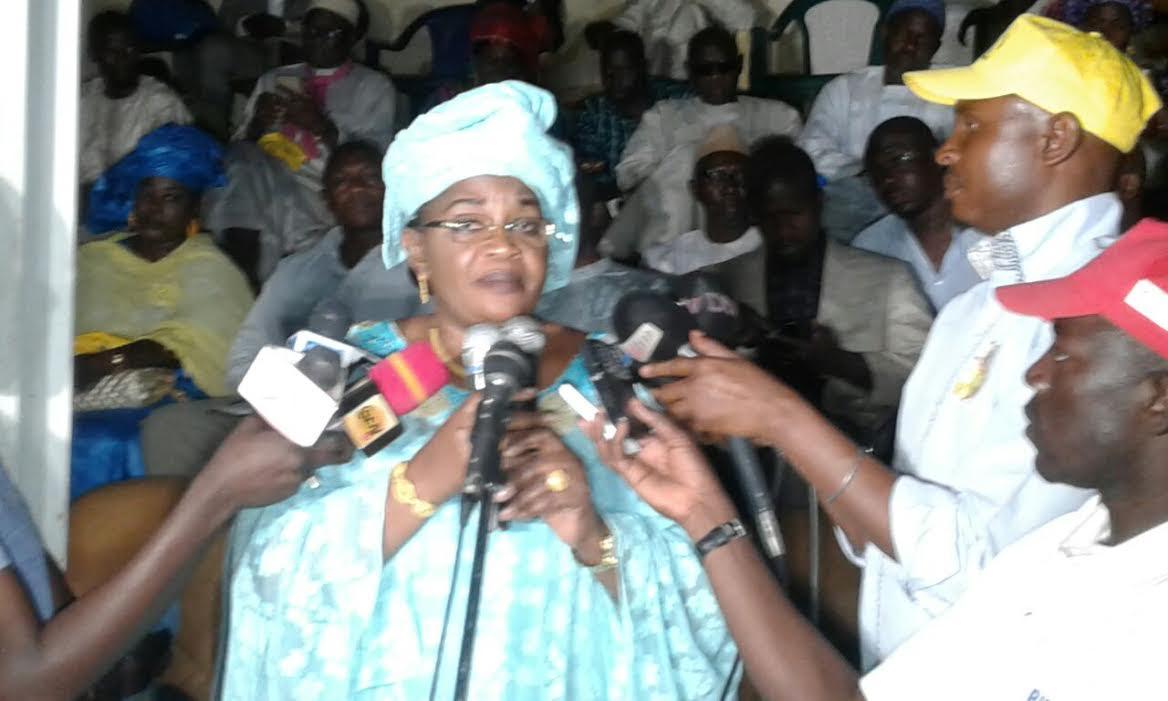 Présidentielle de 2019: Aïda Mbodj annonce sa candidature