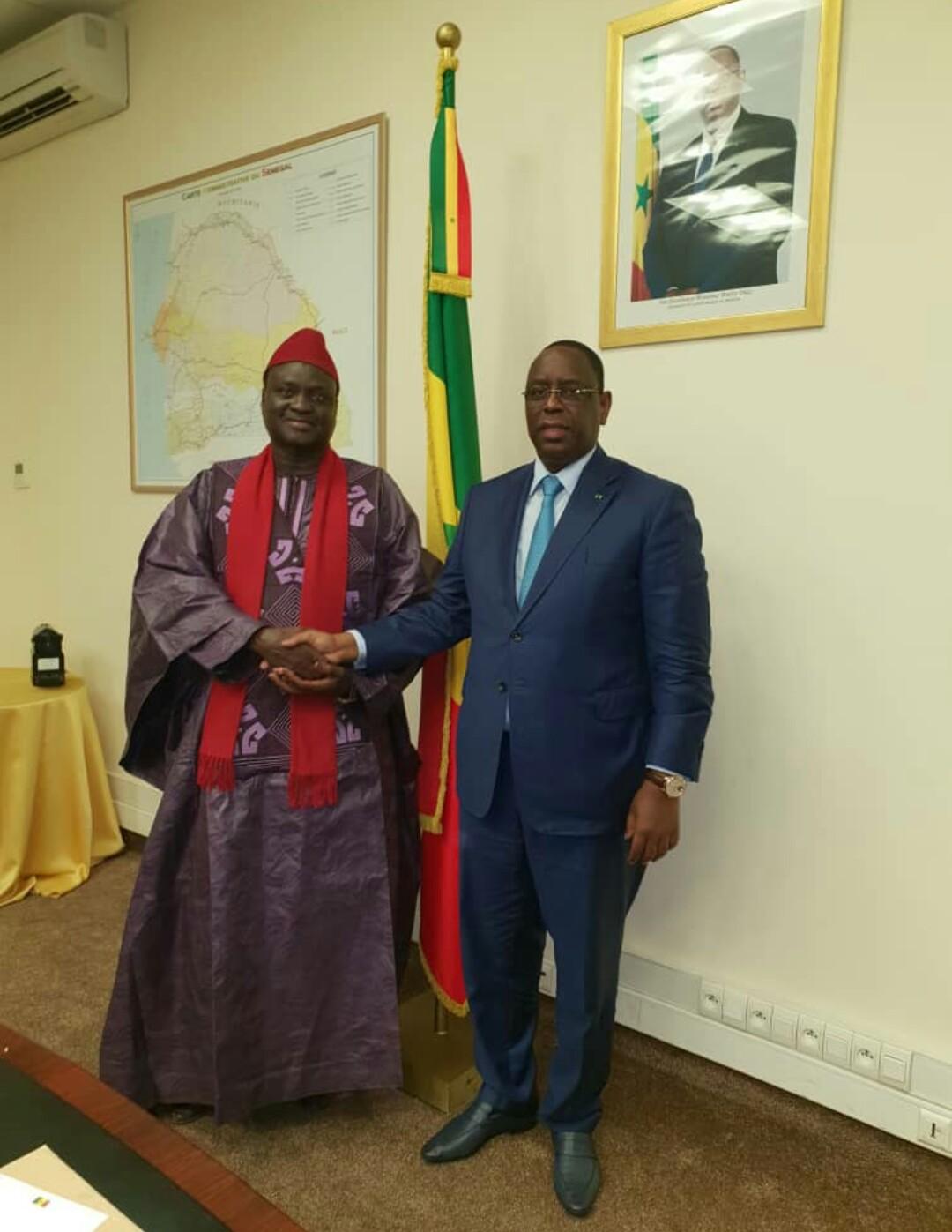 Le député Aliou Dia reçu par le Président Macky Sall
