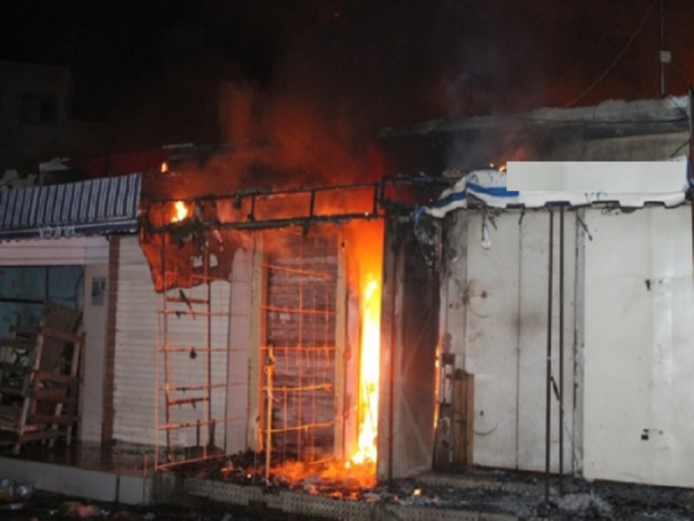Urgent - Incendie du marché Tilène de Ziguinchor : une dame meurt par infarctus après avoir constaté les dégâts
