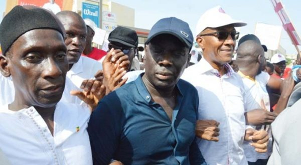 Marche du 12 août 2018 Pikine-Guédiawaye : la déclaration du Front démocratique et social de résistance nationale