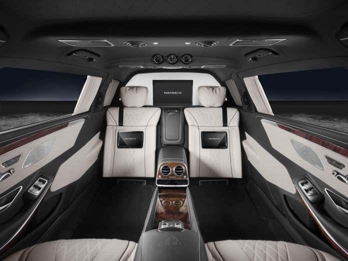 05 photos : Une limousine à 1 milliard de FCfa attribuée au Président Macky Sall