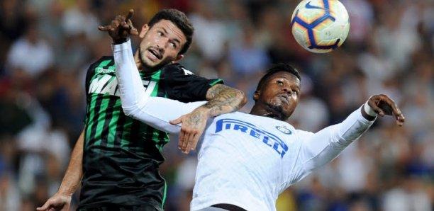 Serie A : l'Inter de Diao Baldé Keita s'incline contre Sassuolo