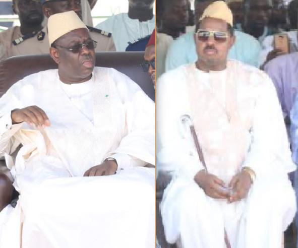 Tabaski: Le geste touchant du Président Macky Sall envers son ami Dr. Ahmed Khalifa Niasse