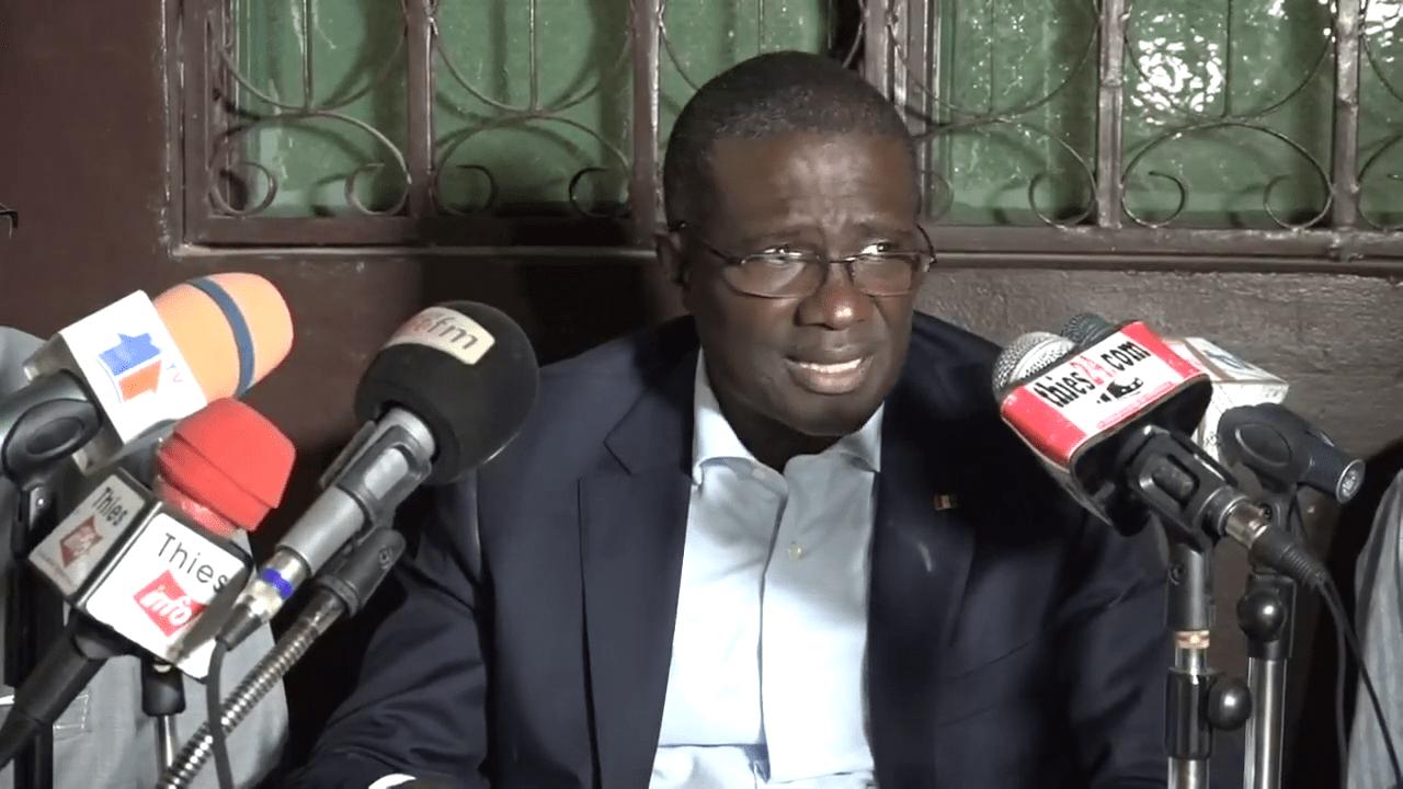 Demba Diouf : « je n'ai aucune intention de combattre Ciré Dia »