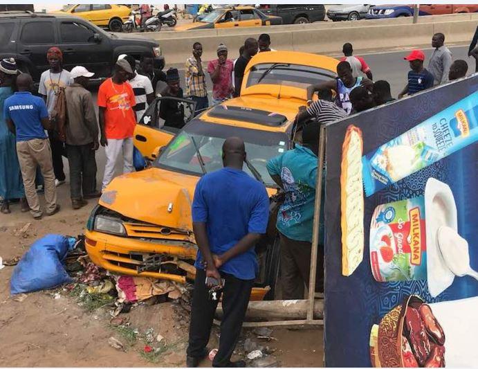 Yoff: Un taximan perd le contrôle de son véhicule et percute plusieurs passants