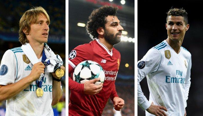 Meilleur joueur UEFA 2018: voici les trois finalistes