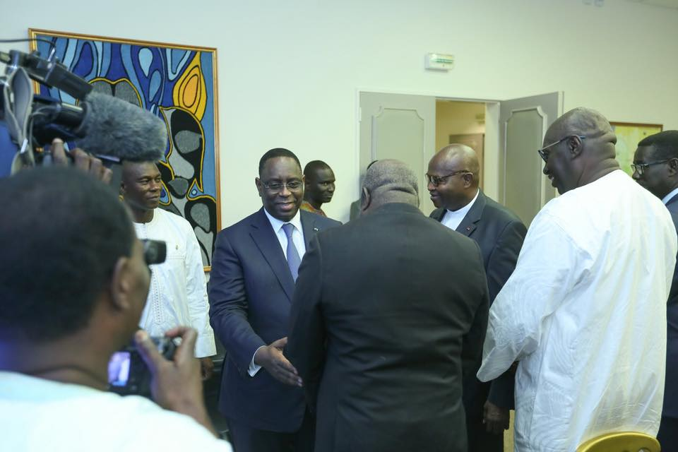 Remise des rapports de la Médiature: Macky Sall magnifie le travail de Alioune Badara Cissé
